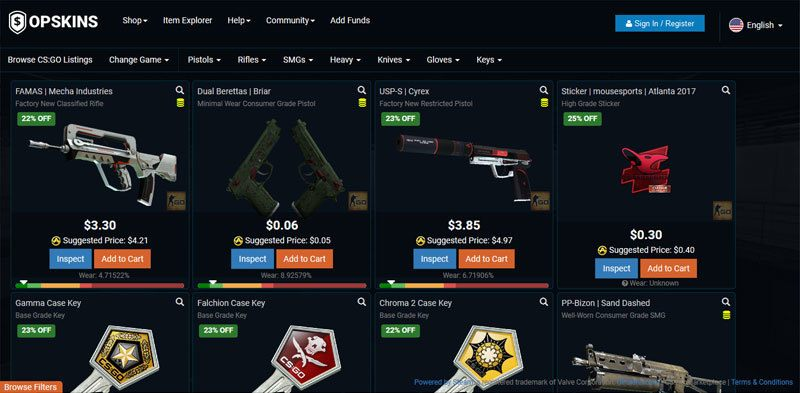 sell cs go skins for paypal