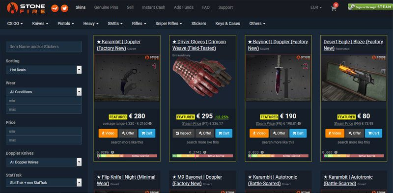 10 Awesome Marketplaces to Buy CSGO Skins