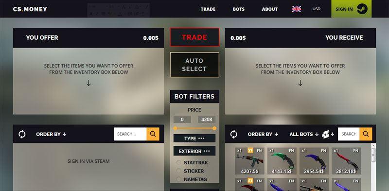 Csgo best trading bot for keys